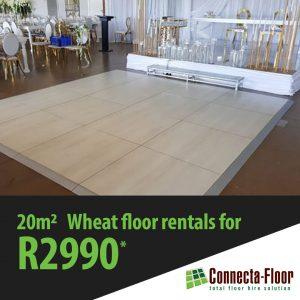 wheat dnce floor